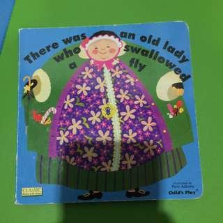 Pre-loved story book