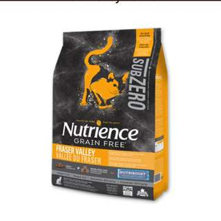 Cat Food Nutrience Subzero