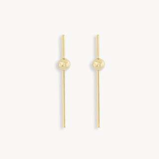 Pomelo Fuyumi Bar Drop Earrings