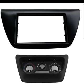 Mitsubishi Lancer GLX CS3 / Evo 9 Double Din Conversion