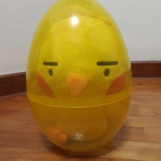 Soft toy Chick in the egg shell