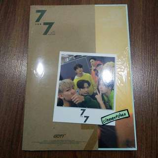 GOT7 7 FOR 7 TAIWAN EDITION ALBUM