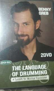 The Language of Drumming by Benny Grebb