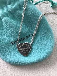 Tiffany 心型頸鏈