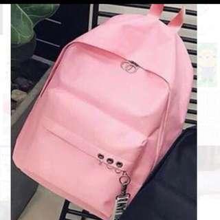 Korea Version Pink Bagpack