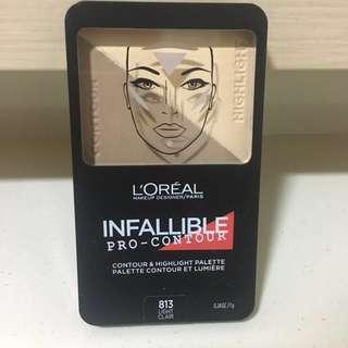 Brand new & Sealed L'Oréal Infallible Pro Contour Palette