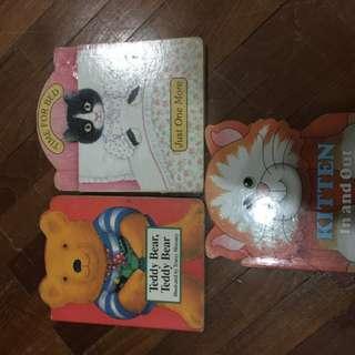 Pre-loves story books x 3