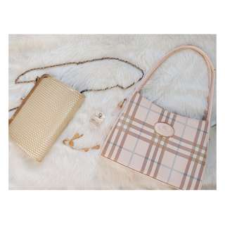 Burberry Bag (Pink One)