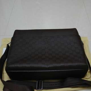 LV啡色皮袋(M41205)