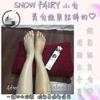 Snow fairy lotion
