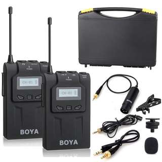 BOYA BY-WM6 Wireless clip mic