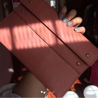 Mango wallet bag purse pink
