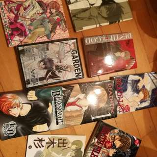 BL Doujinshi, Death Note Series, 9 books, Japanese 日本語