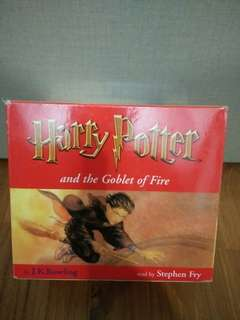 J K Rowling's Harry Potter and the Goblet of Fire 18 CDs Audiobook Box Set