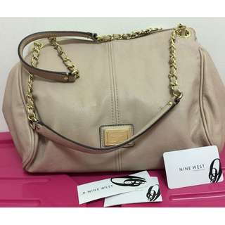 Auth Nine West Chain Shoulder Bag