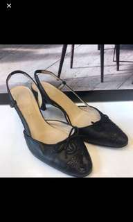 清貨Chanel Leather Sandals