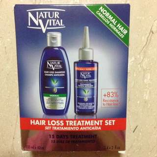 Natur vital hair loss 15-day treatment set (Travel size)