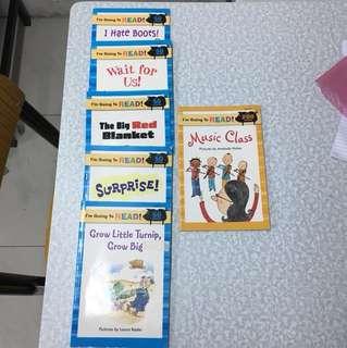 4-8 歲兒童英文圖書6本
