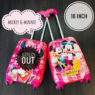 KIDS TROLLEY LUGGAGE 18'