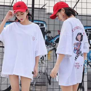 [PO] Long time no see oversized Tee