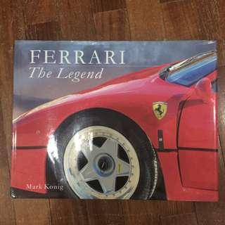 Pre-loved FERRARI THE LEGEND book