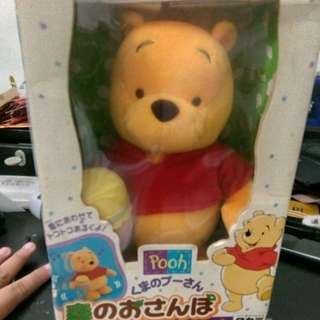 Dacing mini the pooh from japan