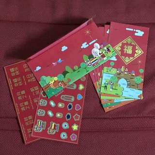 Sunway Red Packets with Stickers