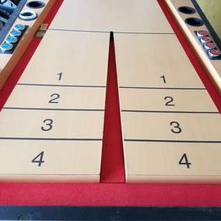 Shuffle Board Gaming Table