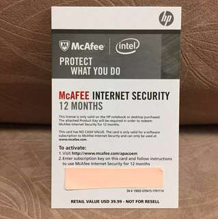 McAfee Internet Security (12 months) - 10