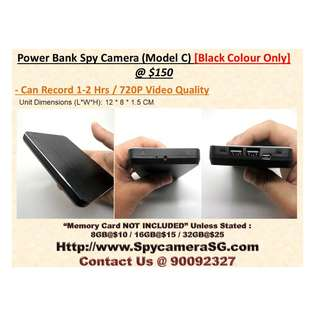 Spy Camera Battery Bank Model C