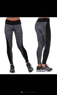 Pro Combat Compression Tights Wear Grey Black Running Yoga Tights