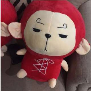 Korean Odyssey Punchmong Plush Dolls 30cm