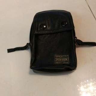 黑色腰包 可放15cm長電話