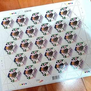 ($3面值 一張共25個)  全新 社會參與 郵票