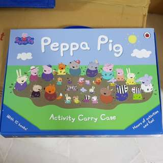 PROMO PRICE [10 Books] Original Peppa Pig Picture Story Books Bedtime Children Story Books