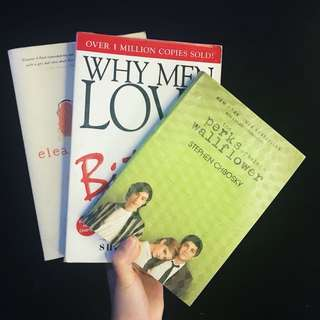 Three books for Php699!!