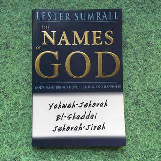 BOOK - The Names of God (Lester Sumrall)