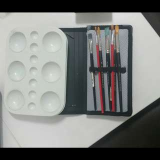 Drawing  & Painting(colouring)  materials....6 items