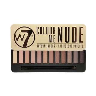 W7 Colour Me Nude Eyeshadow Palette