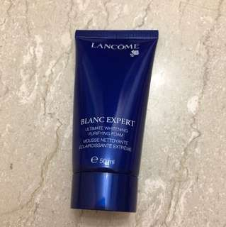 Brand new sealed lancome blanc expert ultimate whitening purifying foam