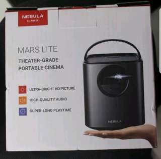 Nebula Mars Lite portable projector