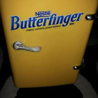 Butter finger mini fridge