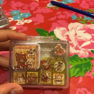 Kawaii japanese stamps