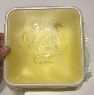 BRAND NEW Yellow Magnolia Lunch / Snack Box
