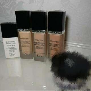 Dior Forever Foundation011、020、030&Base