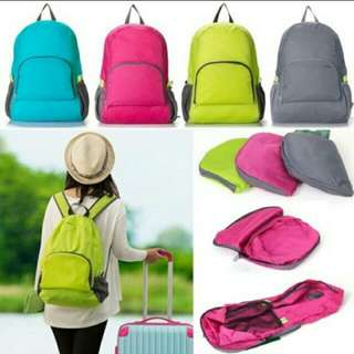 Foldable Waterproof Back Pack for Hiking and Camping