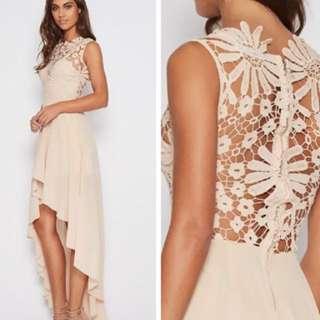 Beige Lace Dress size 6