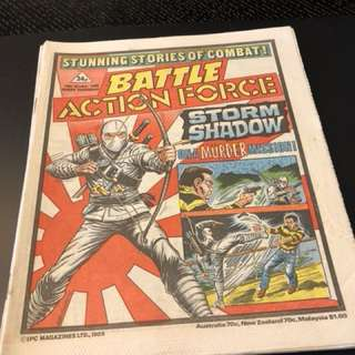 GI Joe comic