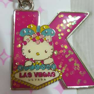 Hello kitty key chain ring new from las vegas