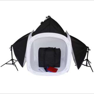 Studio Photography Light Box Complete Kit